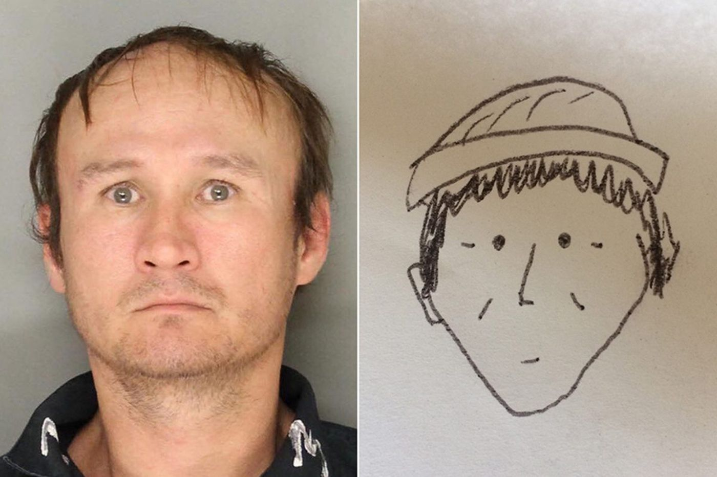A witness drew a terrible sketch to help Pa. police identify a suspect; it actually worked