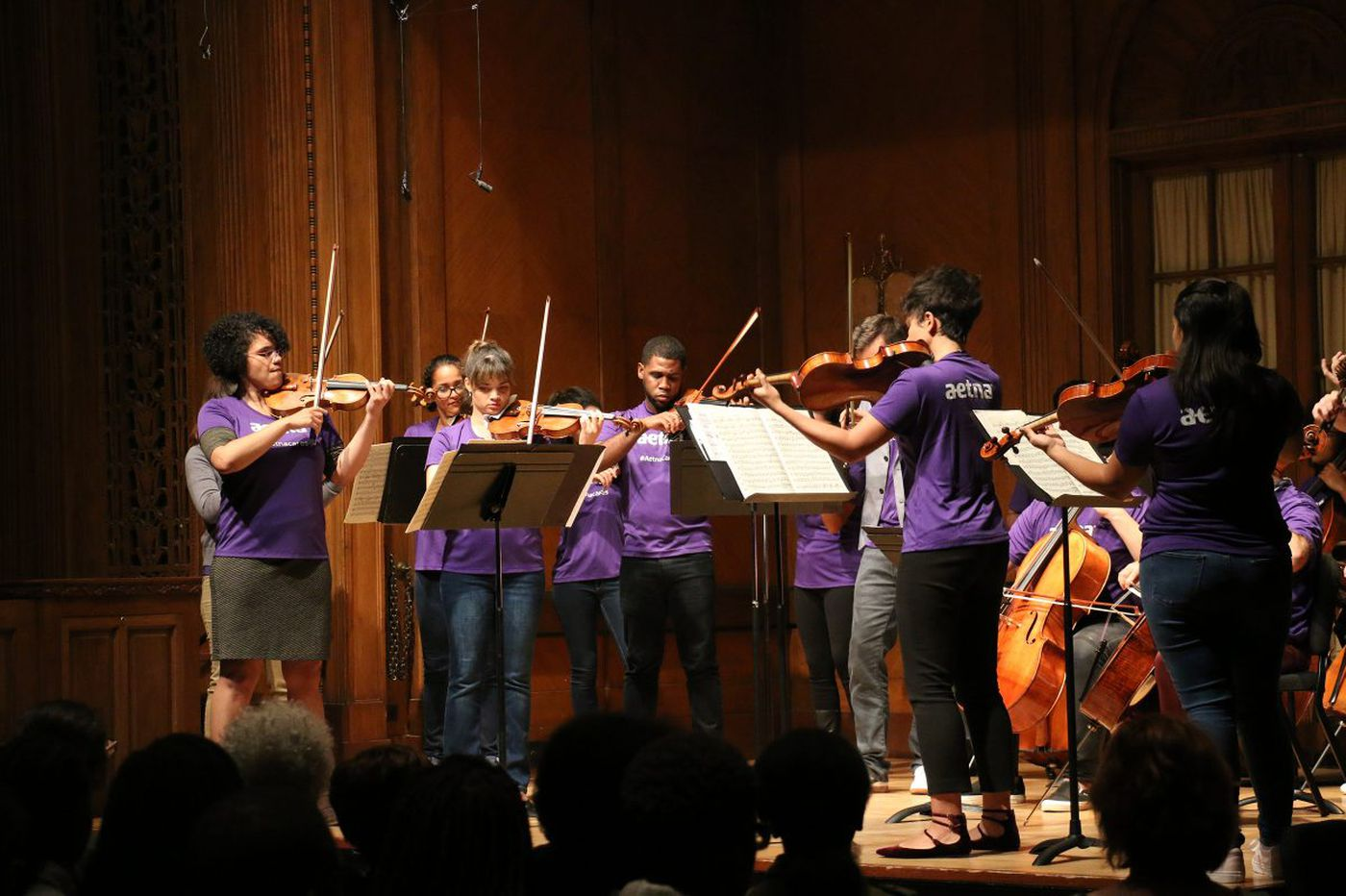 New Curtis-Sphinx summer program aims to train black and Latino string players