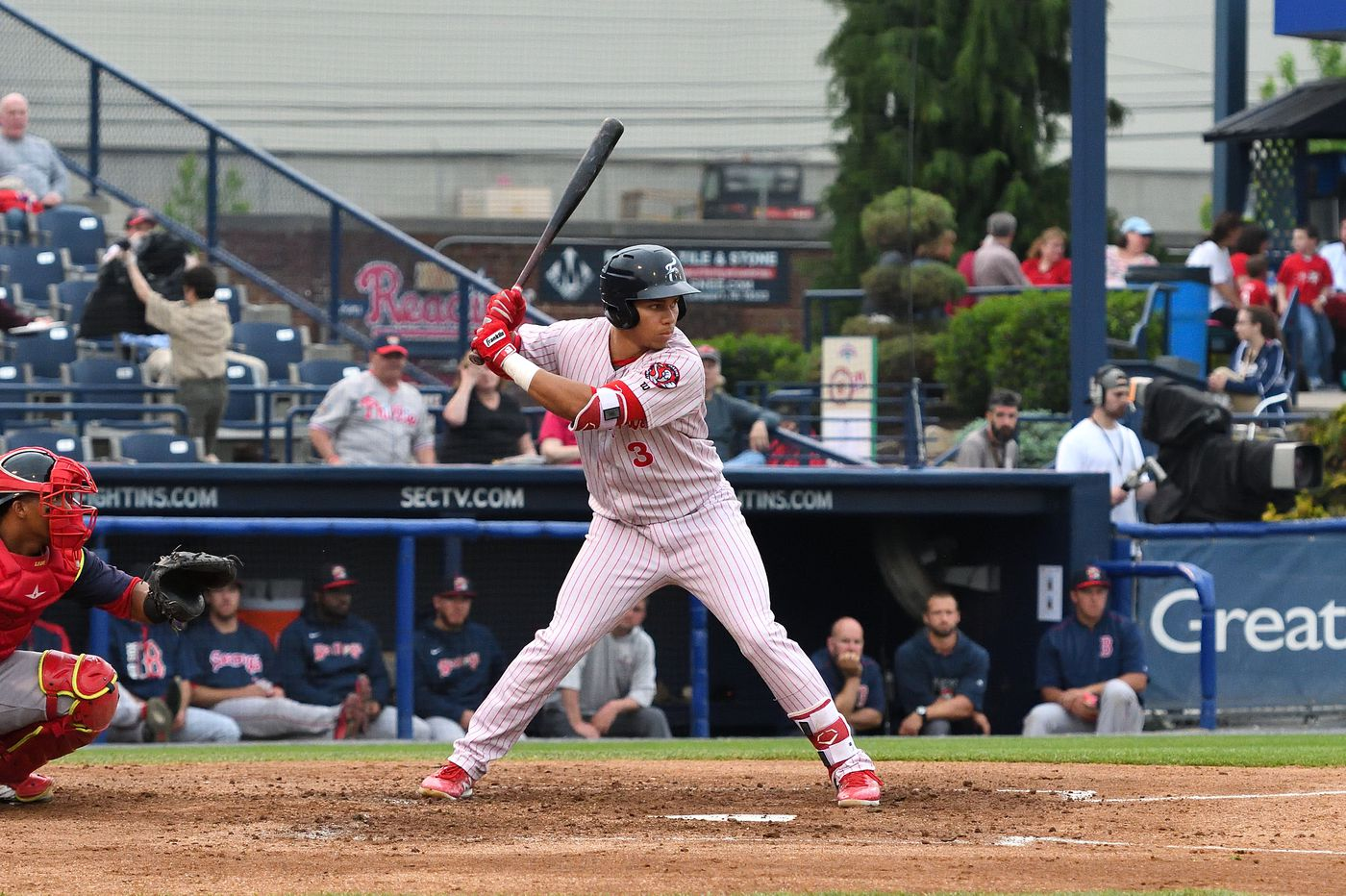 Phillies prospect Jan Hernandez hopes all-star selection puts him 'on the map'