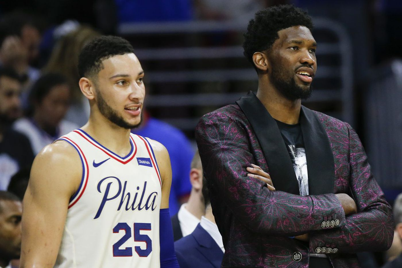 Sixers coach Brett Brown respects the Heat, but won't be rushing Joel Embiid back in NBA playoffs