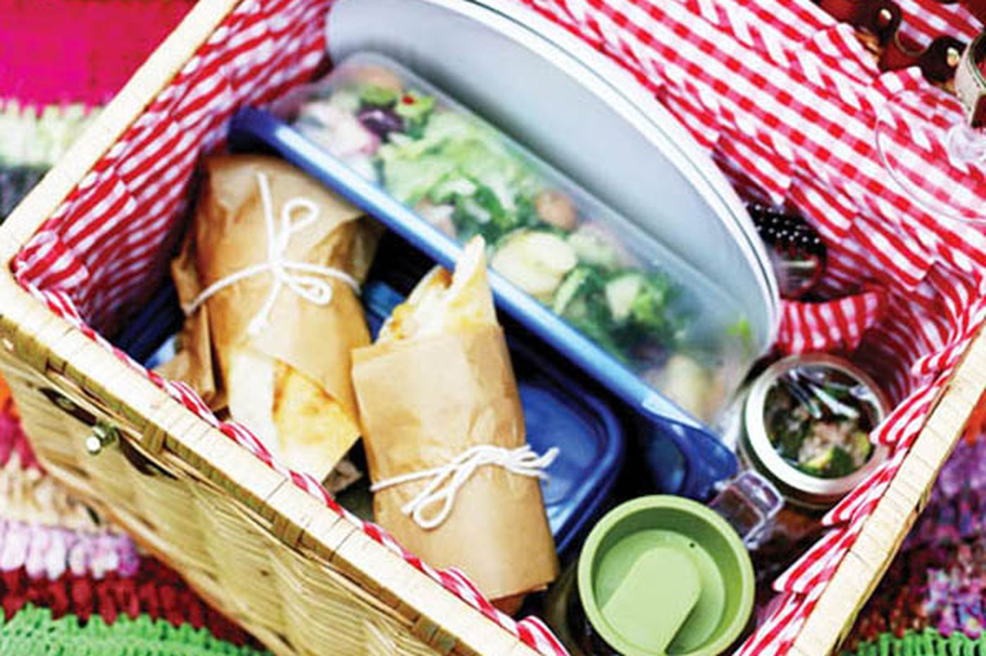 Eat more plants: Recipes and tips for a plant-based picnic