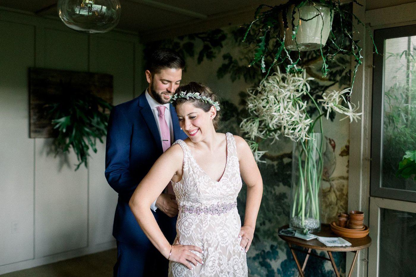 Philadelphia weddings: Ashley Hallowell and Josh Scarbriel