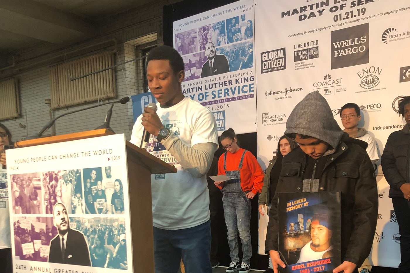 Because of a gun . . . On MLK Day, Philadelphia students share how guns impacted their lives | Helen Ubiñas