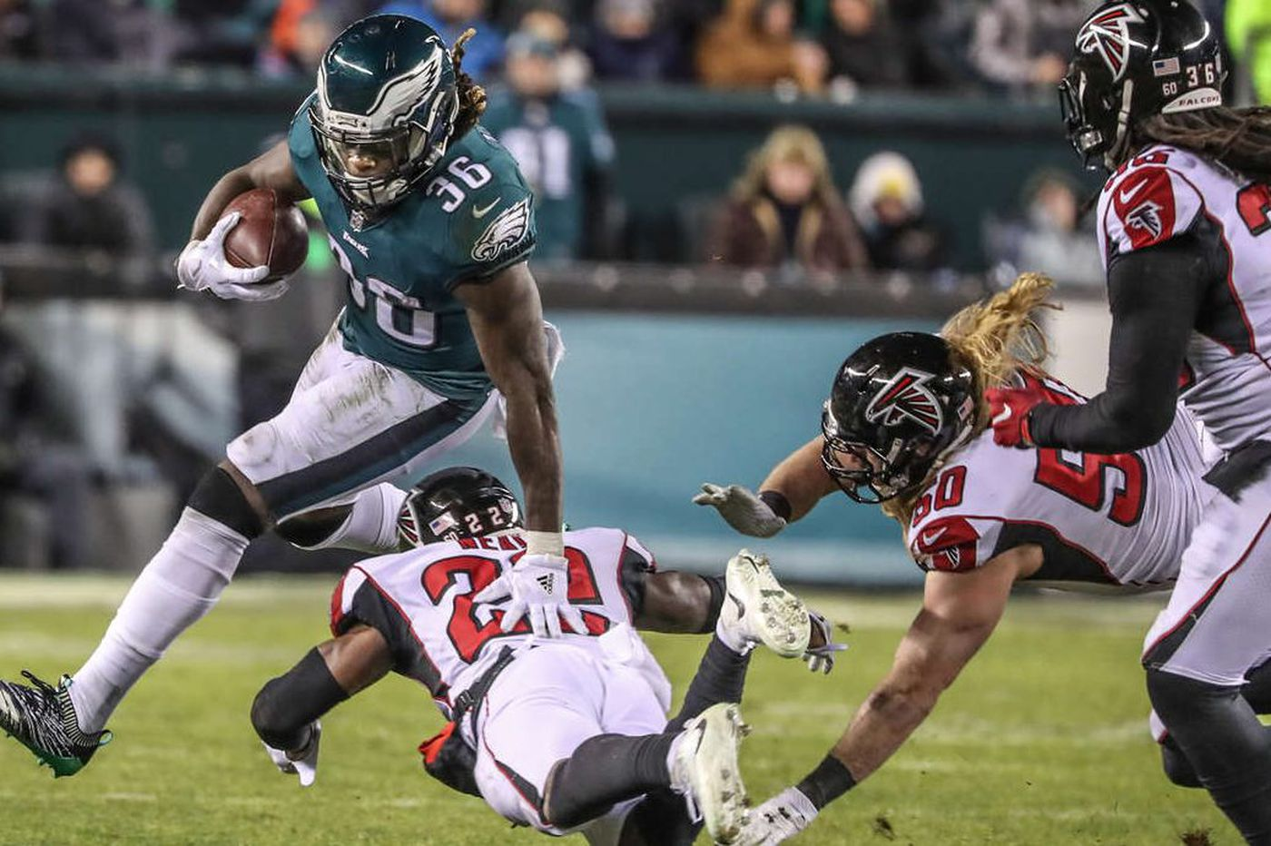 Before reflecting on a hectic year, Jay Ajayi wants a Super Bowl win