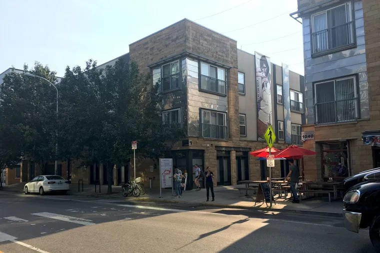 The Liberties Walk retail-and-residential street at the development known as the Piazza in Northern Liberties.