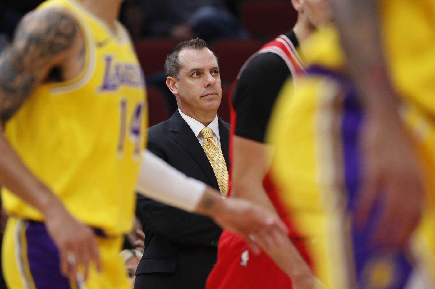 Lakers coach Frank Vogel remains a diehard Eagles fan