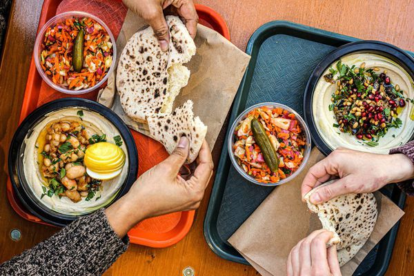 Dizengoff opens at Franklin's Table Food Hall at Penn