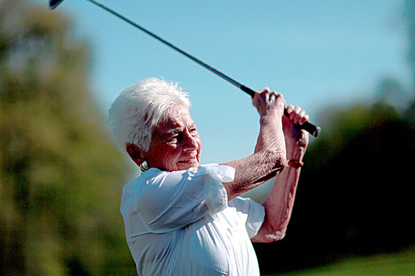 Bobbie Rose still going strong on golf course at 98