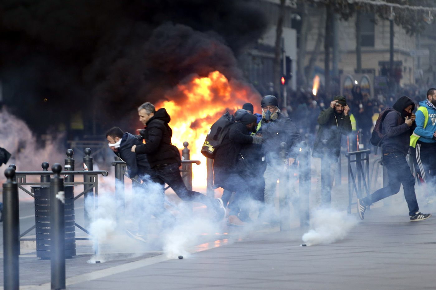 Is France showing us what America's next civil war will look like ...