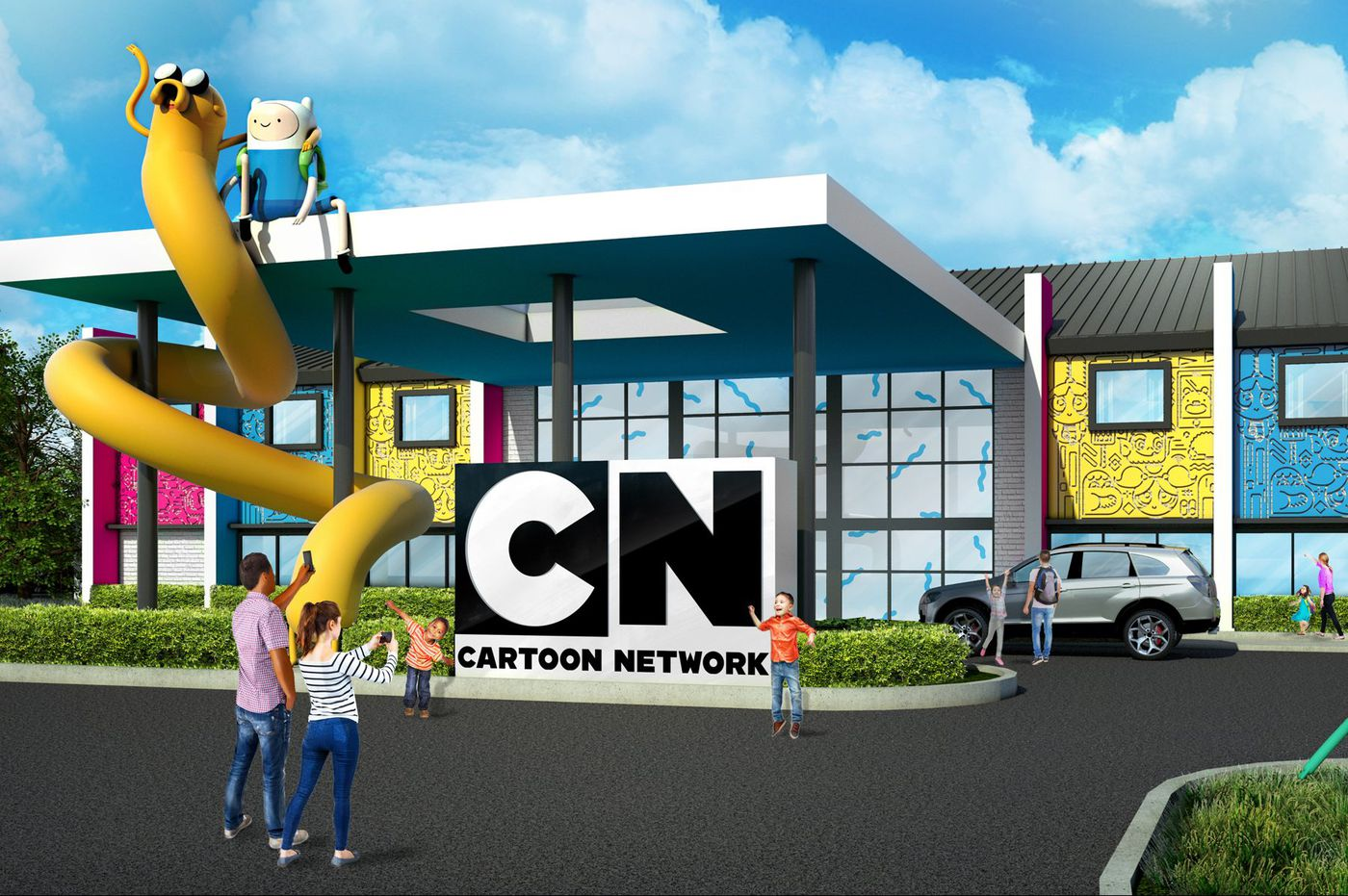 Cartoon network to open animation themed hotel in lancaster for Asino amiatino