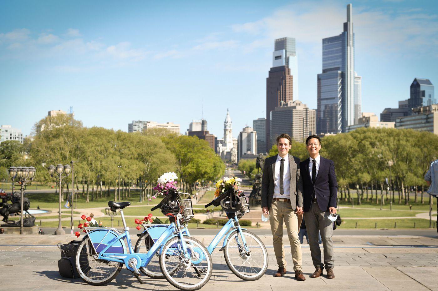 From an ocean apart to just 9 feet: Cedric Huchuan Xia & Erik Lorenz
