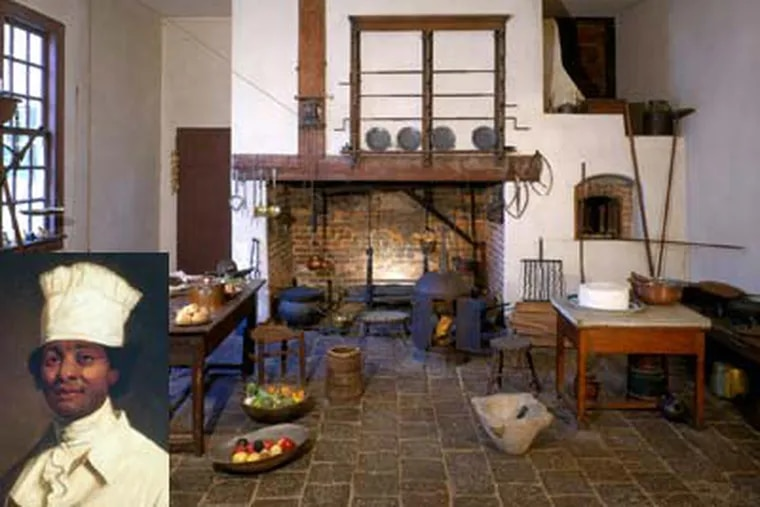 The kitchen at Washington's Mount Vernon estate, from which Hercules (insert) was banished in 1796. (Mount Vernon Ladies Association)