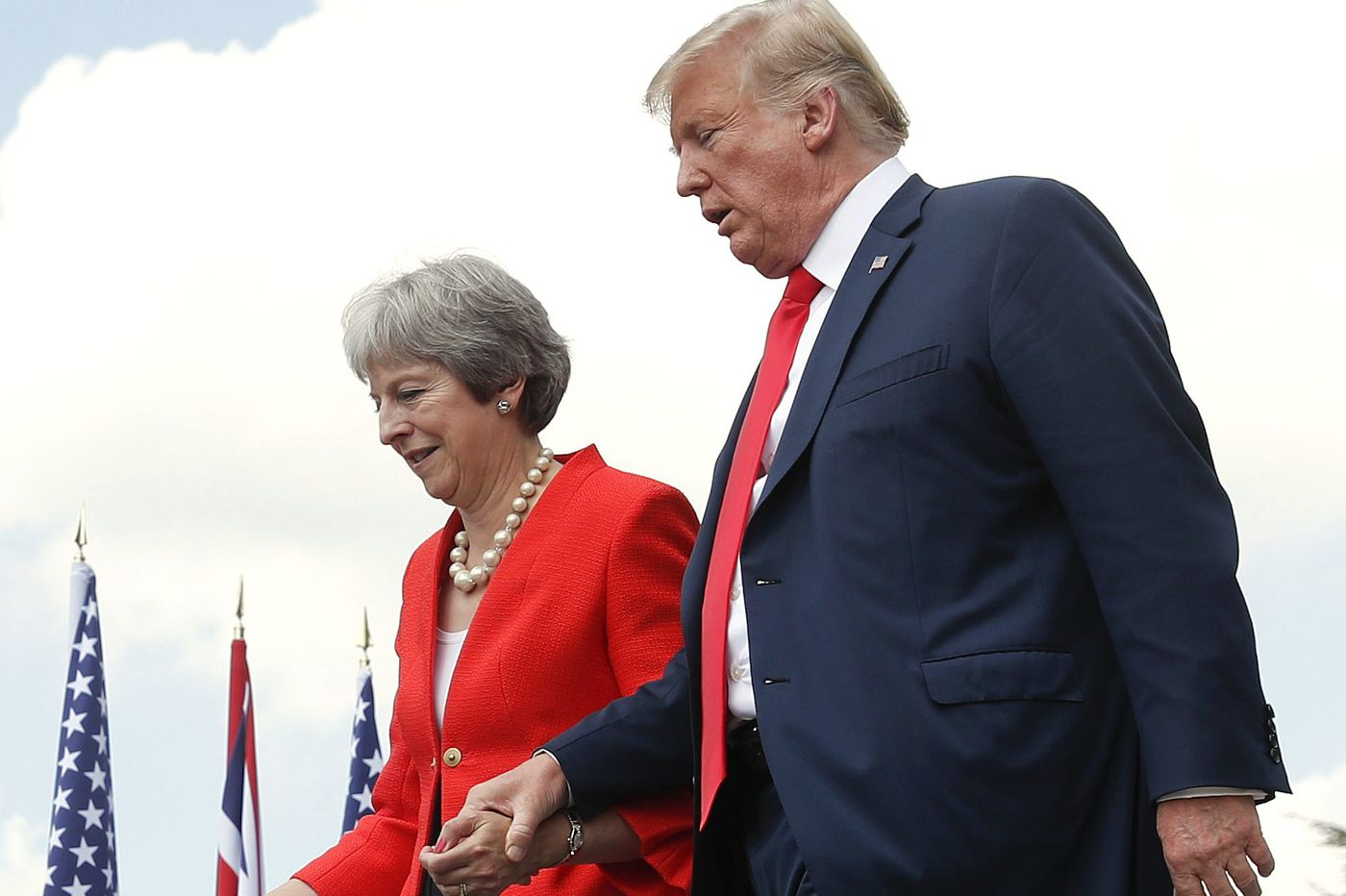 The parallel paralyses of a Brexiting Britain and a shutdown America   Trudy Rubin