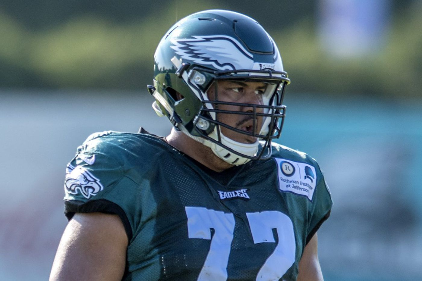 After studying and admiring Jason Peters, Halapoulivaati Vaitai now replaces him on Eagles' offensive line