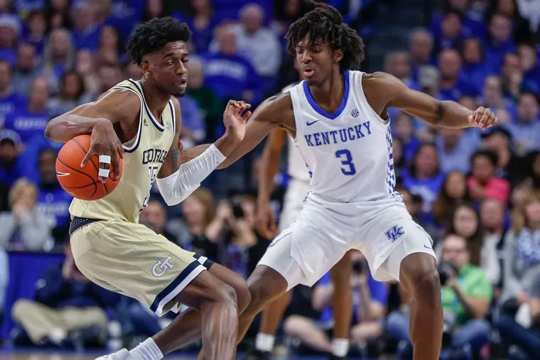 Tyrese Maxey missed the early part of Sixers training camp due to COVID, but he's adjusted well since returning to practice.