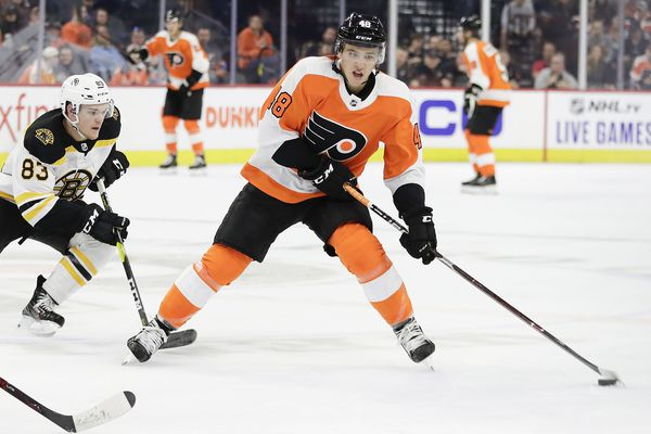 Flyers call up top prospect Morgan Frost from Phantoms to boost struggling offense