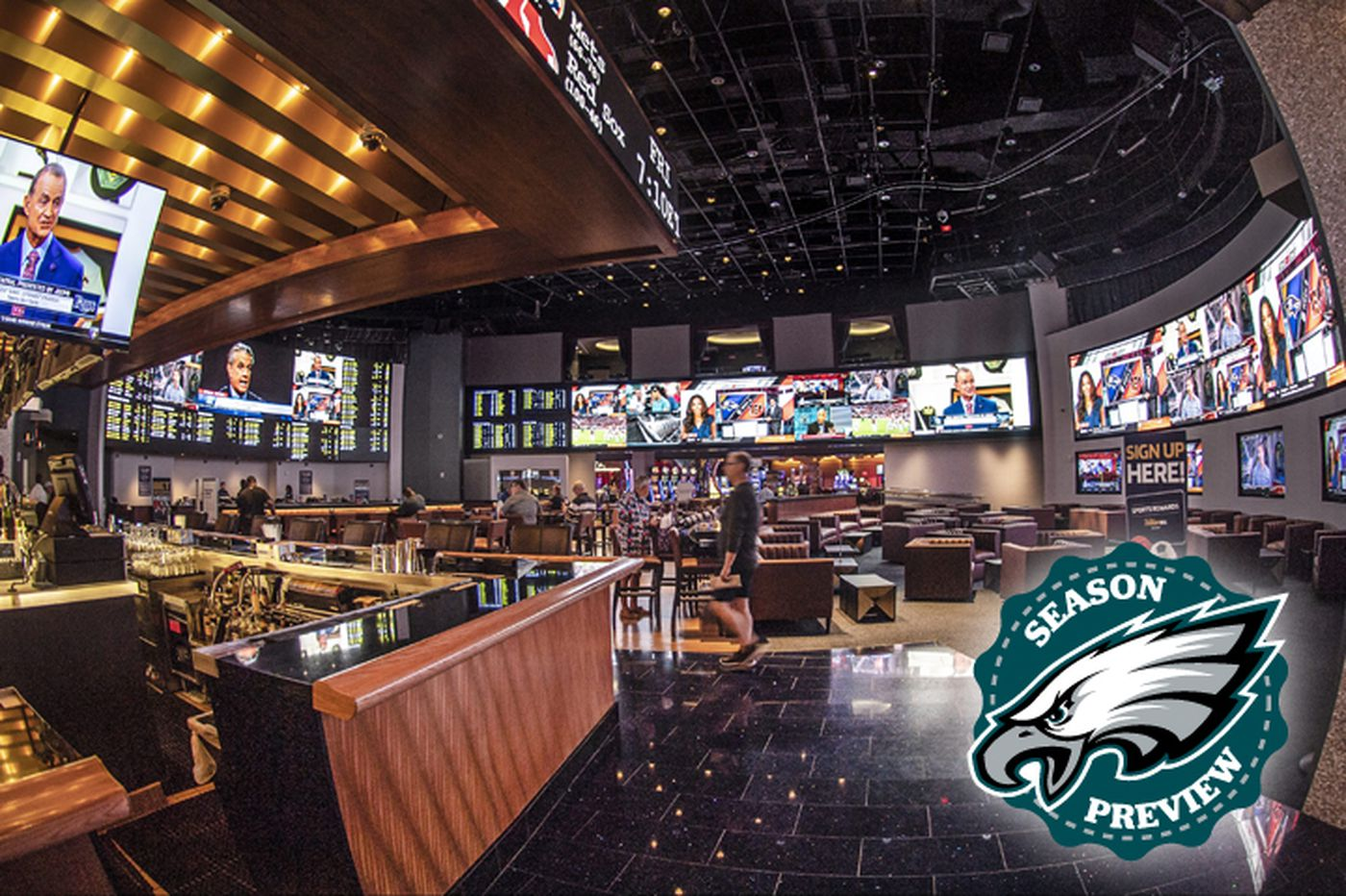 NFL preview: Point spreads for all 16 Eagles' games just part of the new sports betting world