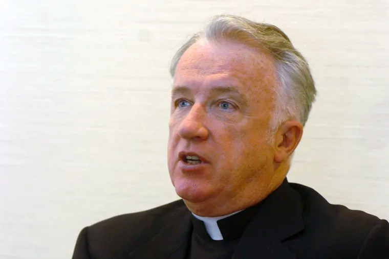 FILE - Michael J. Bransfield, a former Philadelphia priest and ex-bishop of the Diocese of Wheeling-Charleston in West Virginia, pictured in 2005. In a new lawsuit, his former personal secretary claimed Bransfield sexually assaulted him in 2014. ( Dale Sparks / AP )