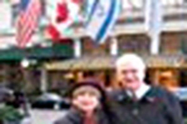 Personal Journey: Christmas in New York for a pastor and his wife