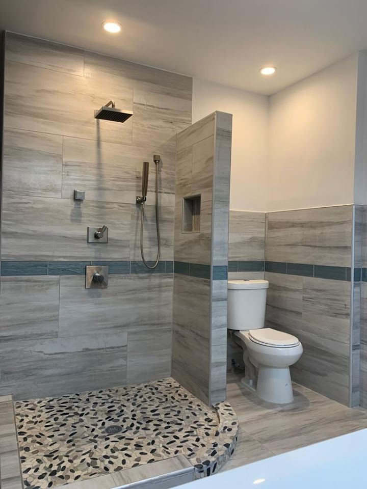 A Bathroom Without Doors West Philly, Open Concept Bathroom