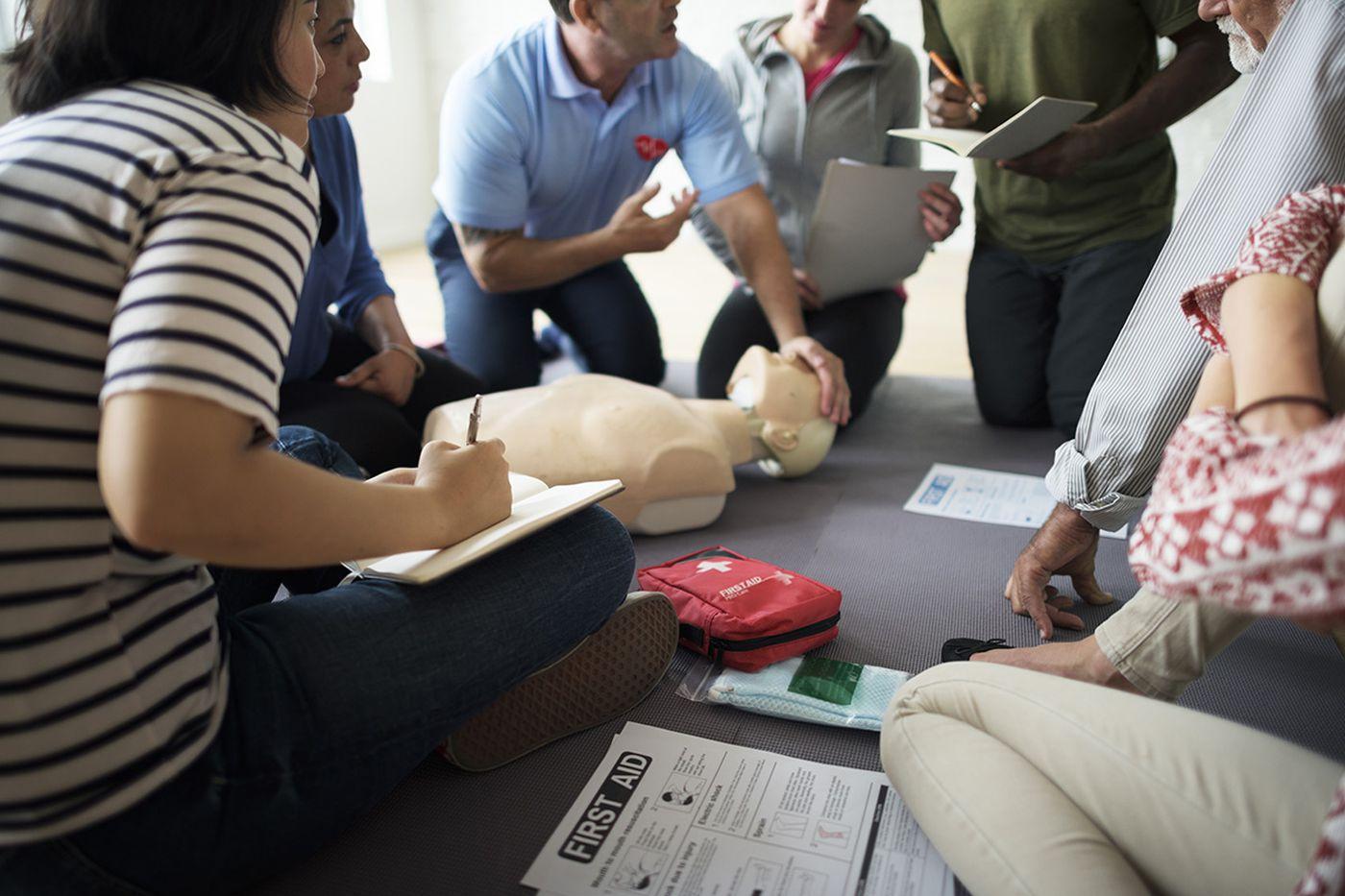 Teaching Philadelphia high school students how to save a life