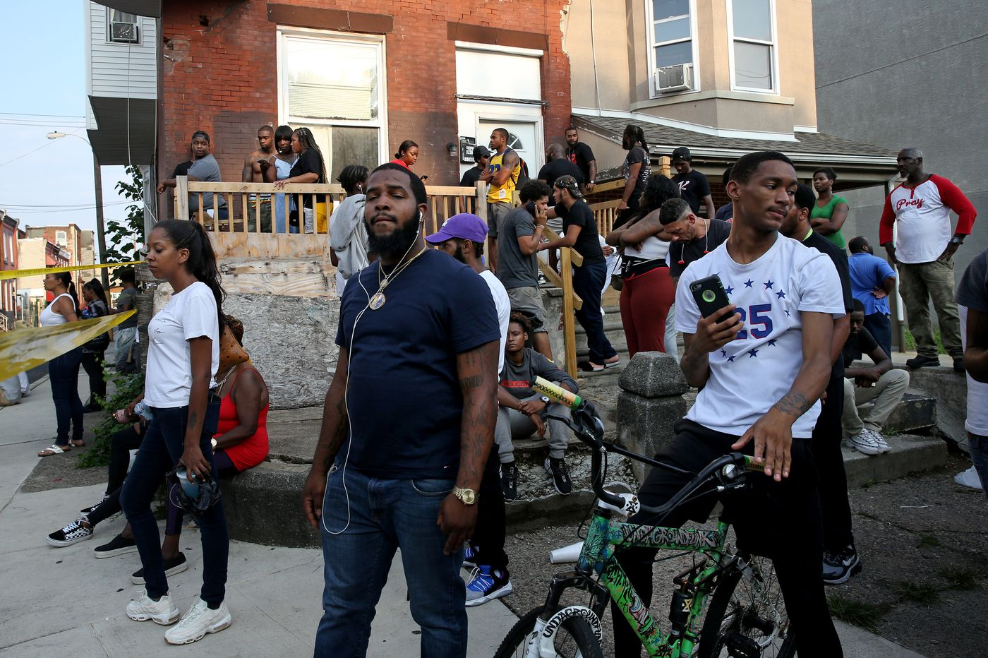 On the North Philly block the morning after police shootings: 'Today we have no children'