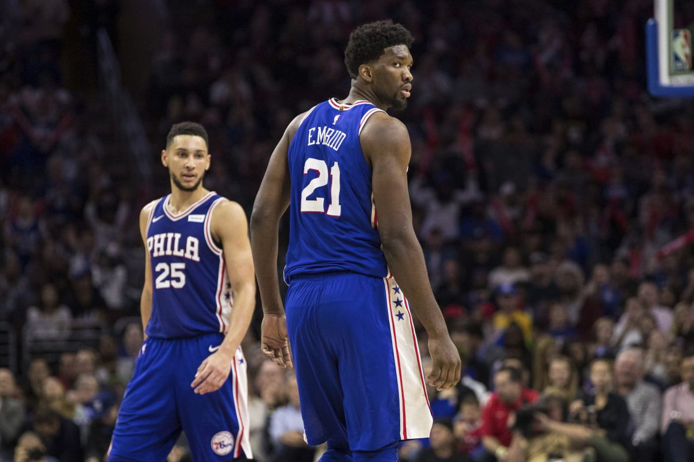 Sixers' Ben Simmons and Joel Embiid an increasingly dynamic duo