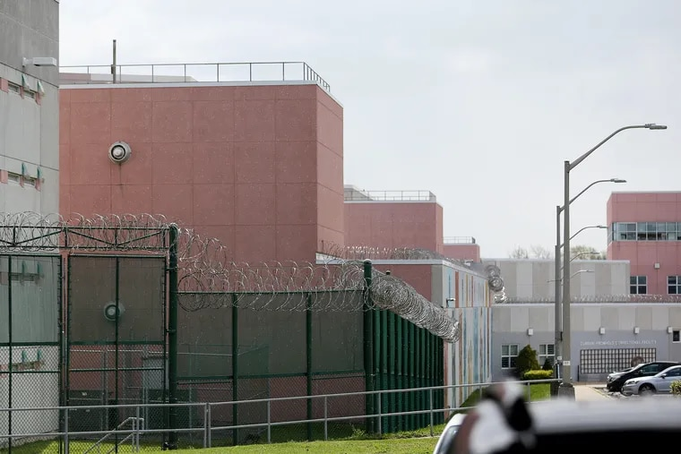 Curran-Fromhold Correctional Facility, Philadelphia's largest men's jail.