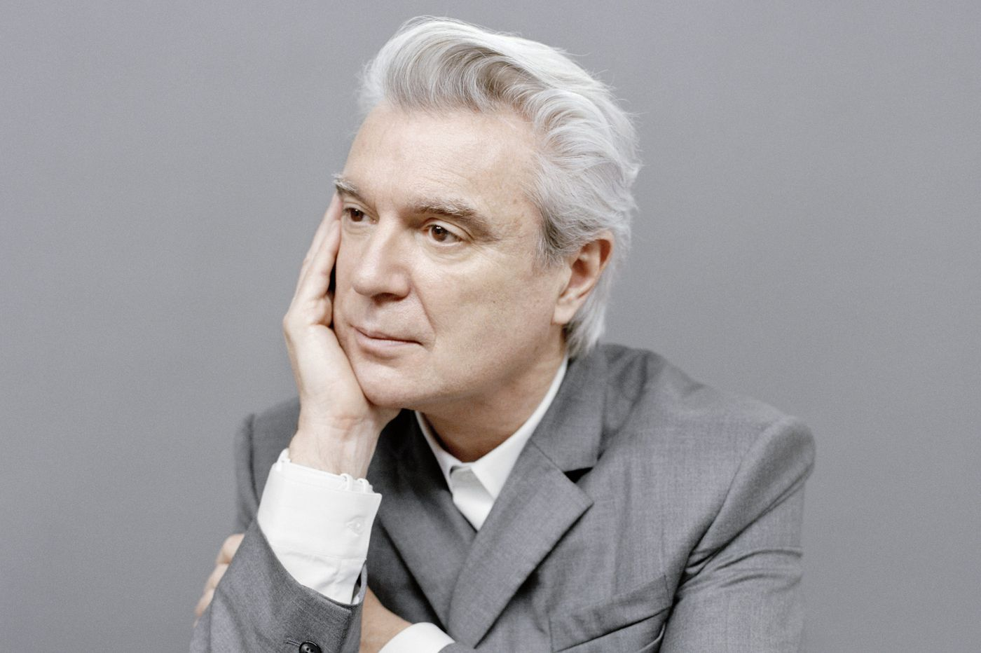Watch: David Byrne covers Janelle Monae, honors victims of racial violence at Xponential Fest in Camden