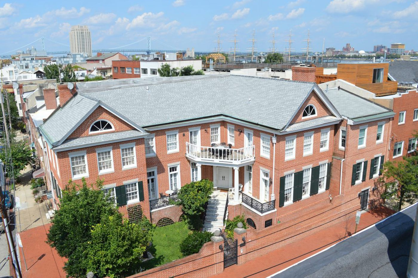 A rare Queen Village mansion eludes redevelopment, will remain a home