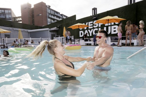 Thongs and frosé? It's a selfie-centered crowd at Vesper Dayclub, NoLibs' 21+ swimming pool