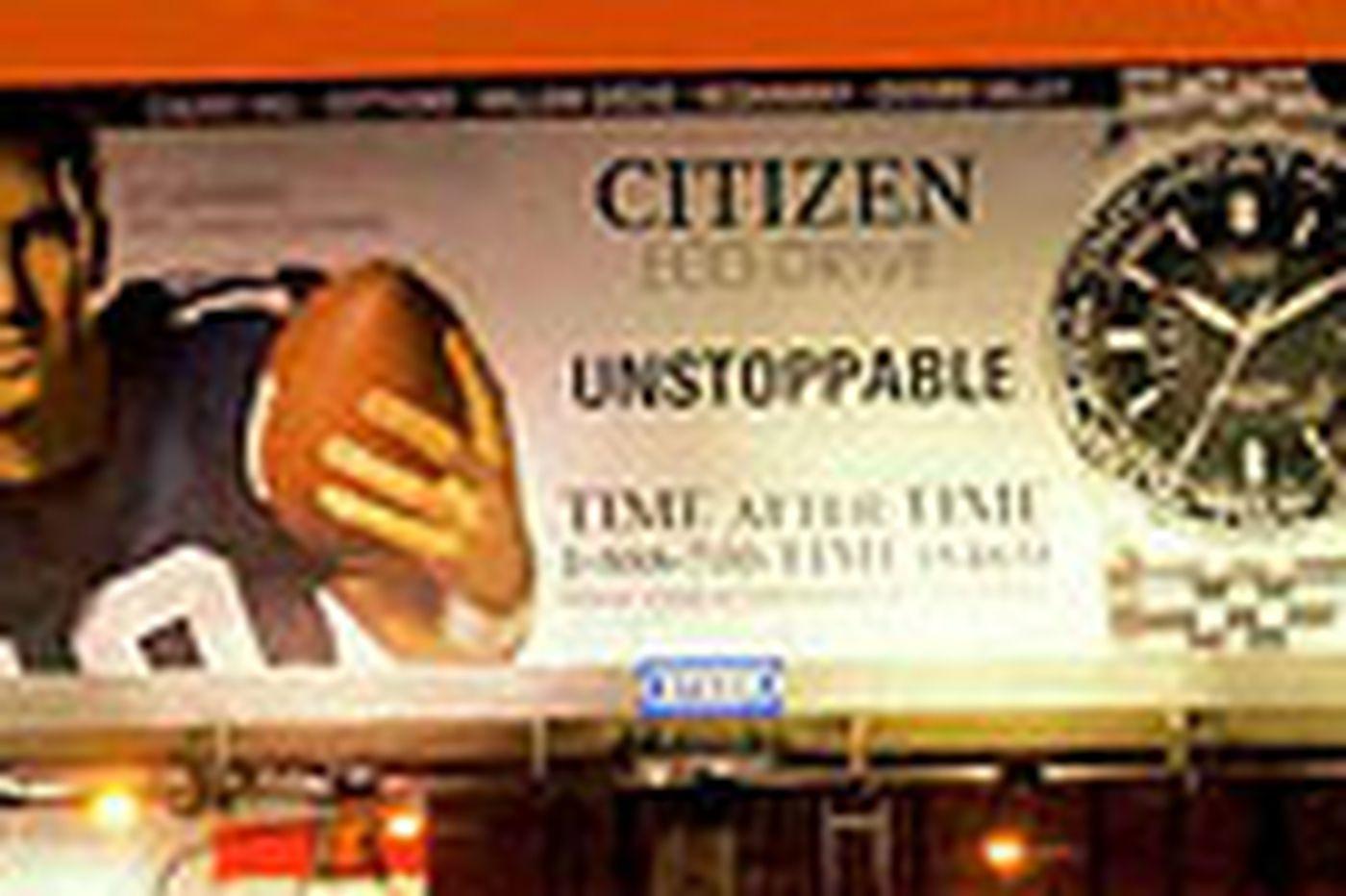 Two New York athletes loom over Philadelphia on billboards