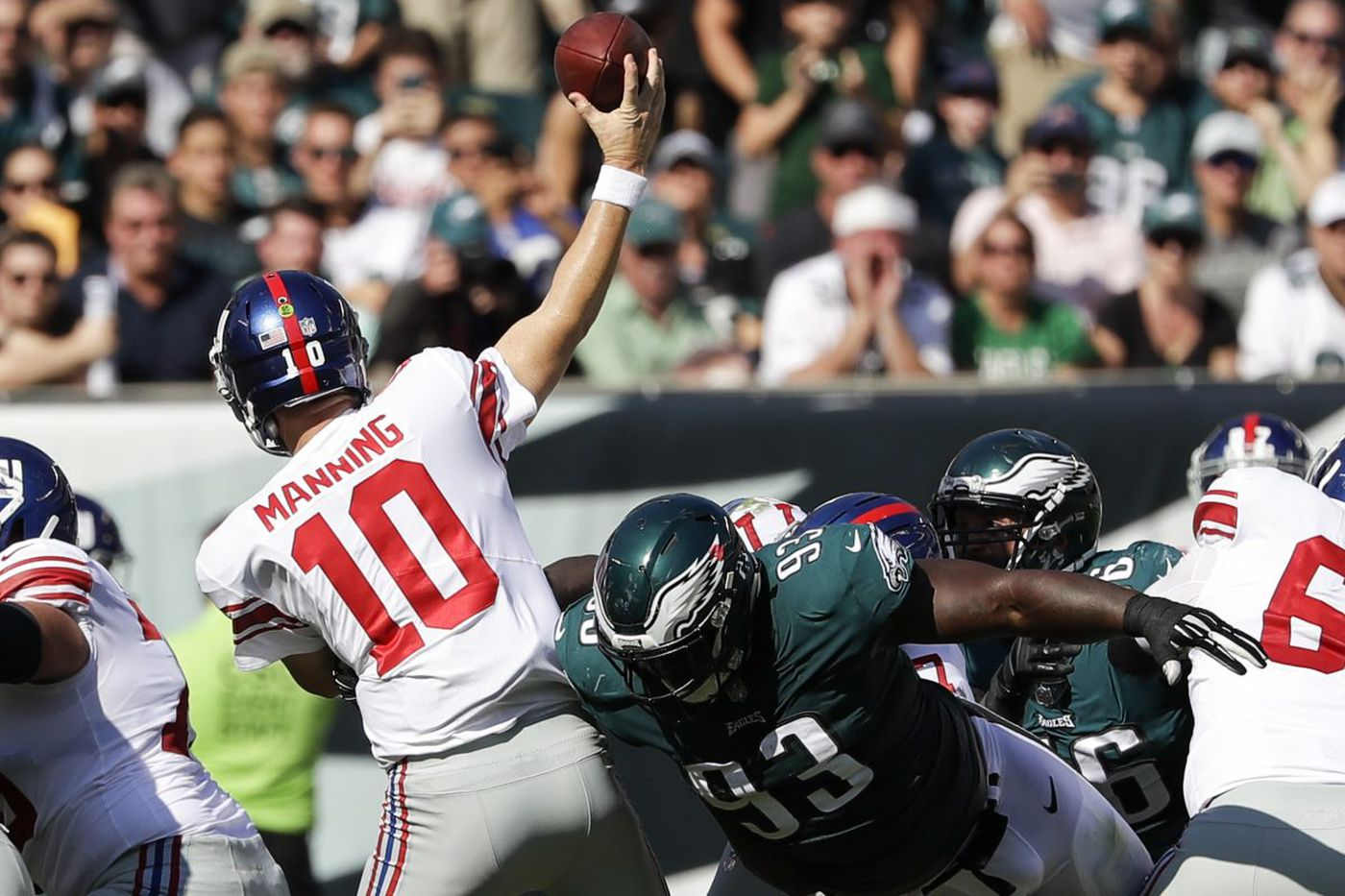 Eagles-Giants: TV announcers, referee info, point spreads, etc.