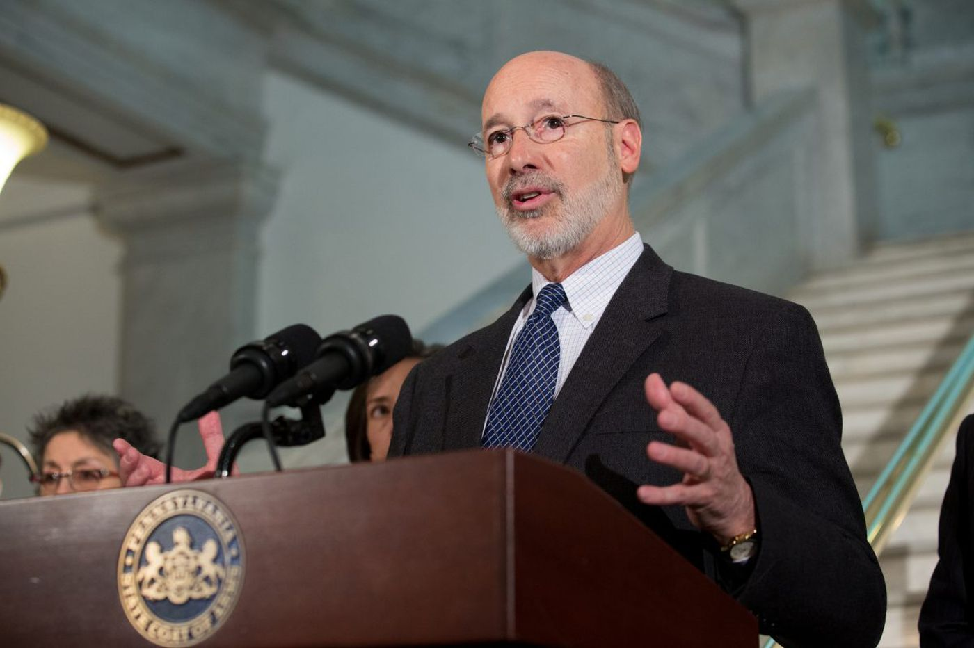 Wolf vetoes workers' comp bill, vows crackdown on pain creams, pharmacies