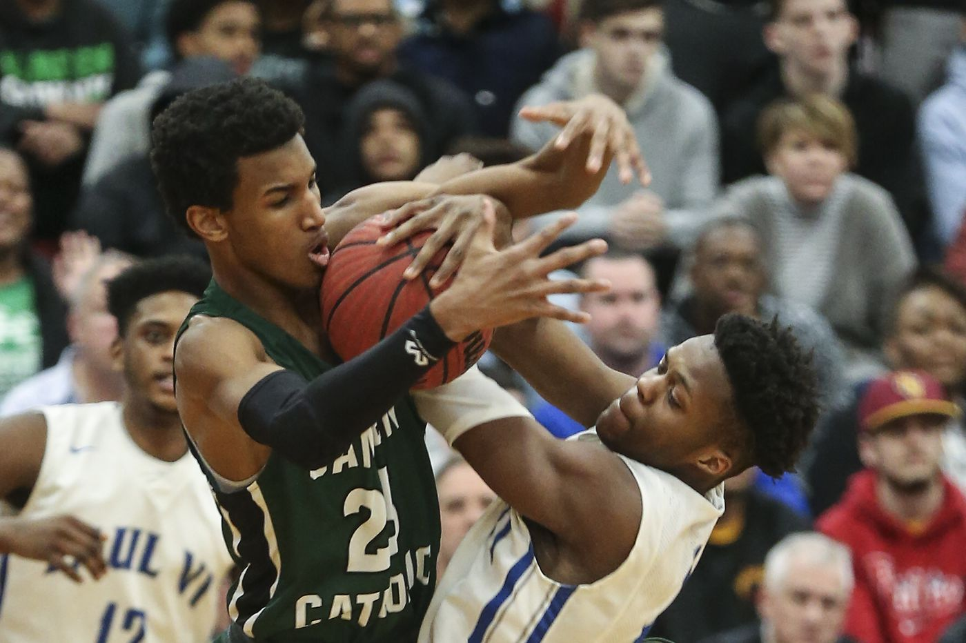 Basketball recruiting: Camden Catholic's Zach Hicks gets the once over from Temple coach Aaron McKie