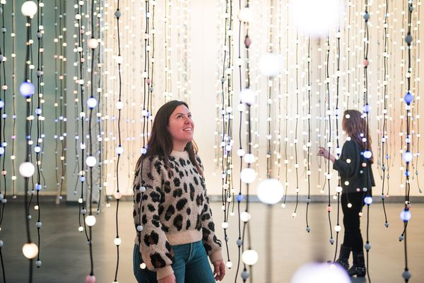 Look inside Wonderspaces, Philly's new interactive art exhibit, with pieces from Burning Man, SXSW, and more