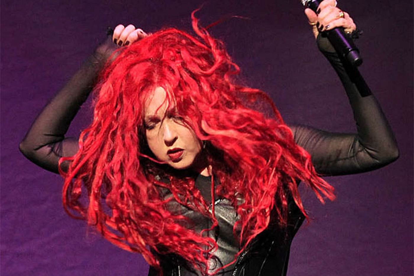 Cyndi Lauper, with Cher returns to Philly on Monday
