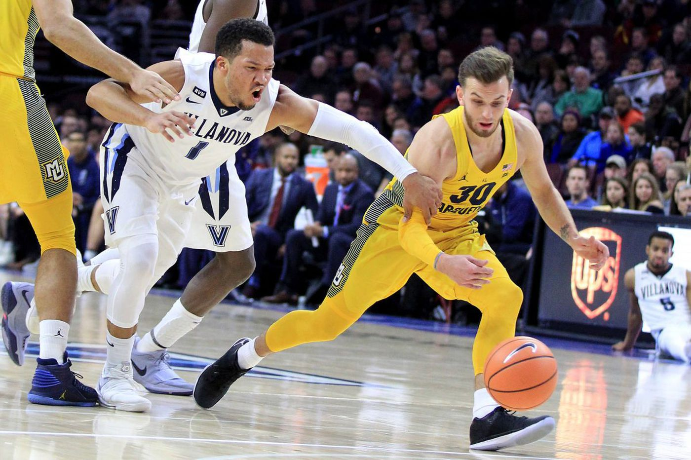 Villanova's rotation to be tested at Marquette because of Booth's injury