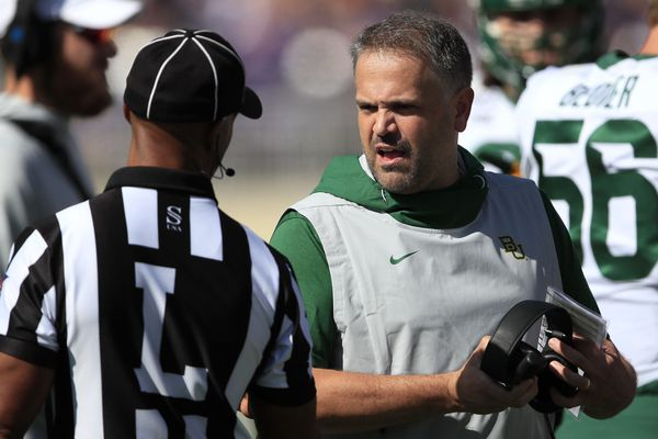 Former Temple coach Matt Rhule is undefeated at Baylor | Mike Jensen