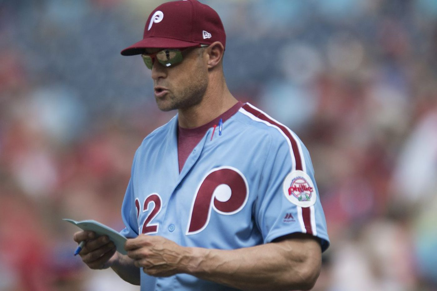 Breaking down the advanced metric Gabe Kapler uses to evaluate his bullpen arms