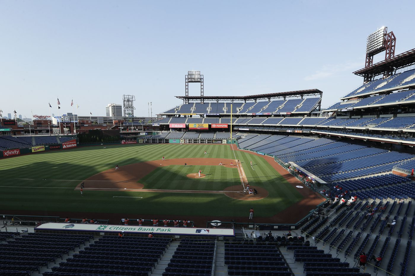 Phillies' coronavirus tests all negative a second time; doubleheader vs. Blue Jays on Saturday after Friday's game postponed