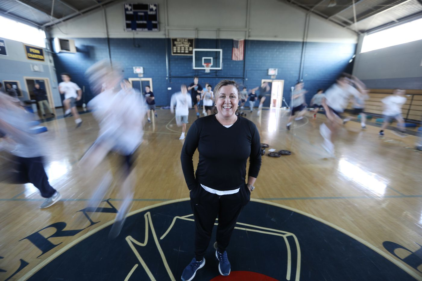 Malvern Prep strength coach Mary Fran Frankenheimer breaks both a sweat and sports stereotypes
