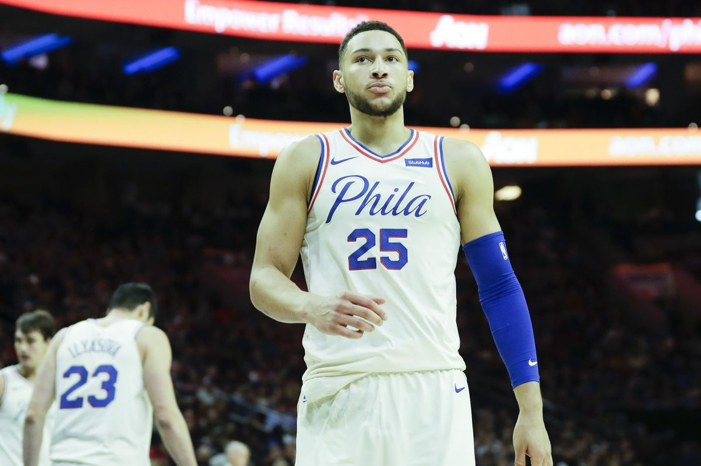 Updated: Ben Simmons playing despite stomach bug