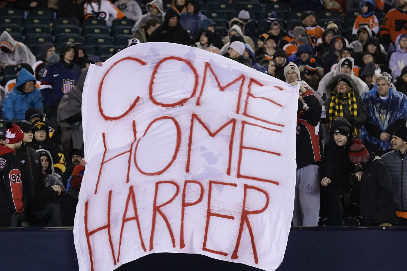 Bryce Harper is headed to Philly, and fans respond in classic Philly fashion