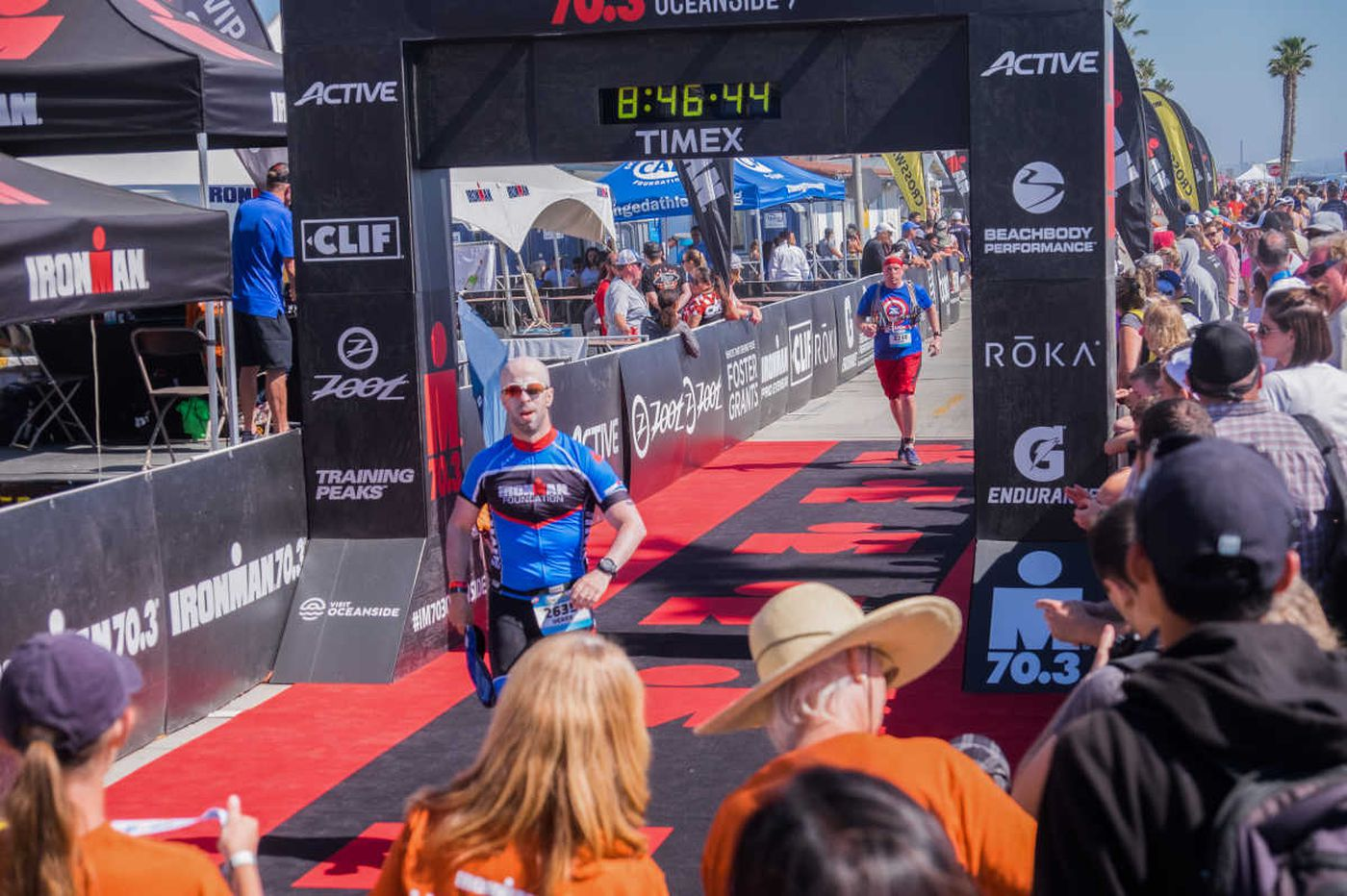 An Ironman to his organ donor: I am alive because I am 'us'