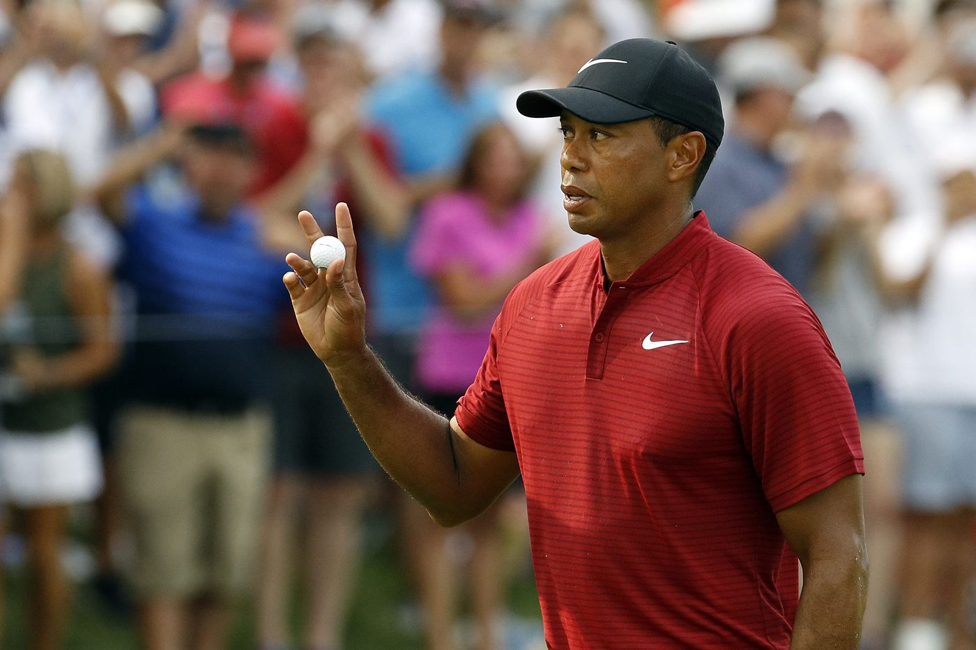 Tiger Woods scheduled to compete next month in BMW Championship at Aronimink