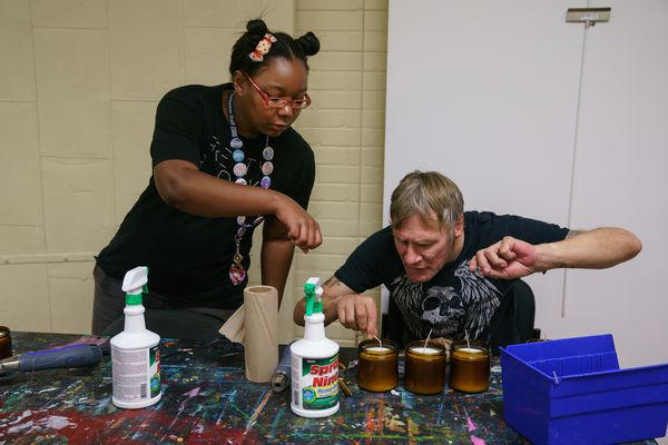For Philly's formerly homeless, it is better to make one little candle
