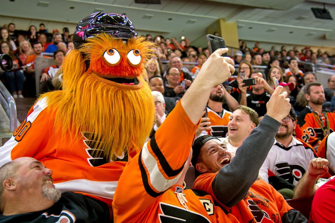 What is Gritty? A 'lovable monster,' the orange embodiment of Philly and the Flyers, or a brand marketing breakthrough?