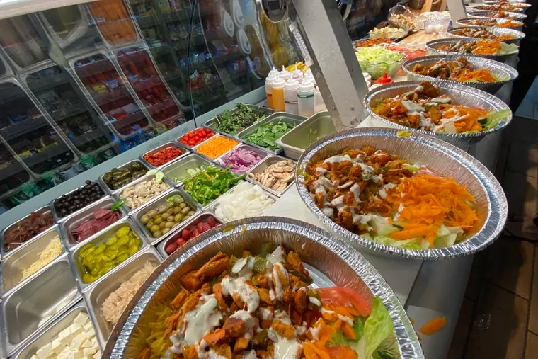 Healthy Picks deli prepared 40 meals of chicken, rice, and salad for Afghan evacuees stranded at PHL overnight on Monday, Aug. 30, 2021.
