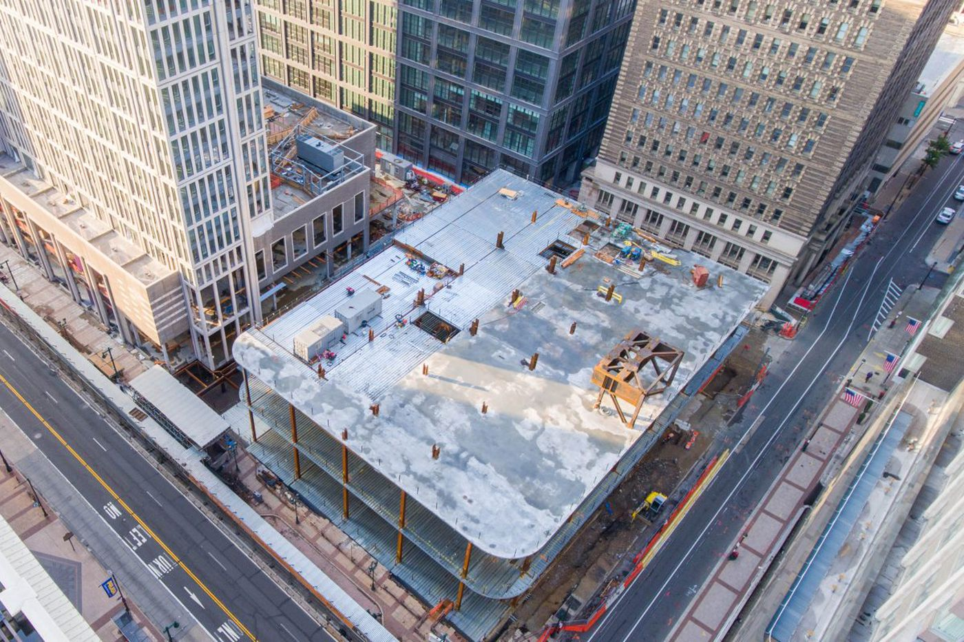 Hotel mulled for historic Girard Building at East Market development site